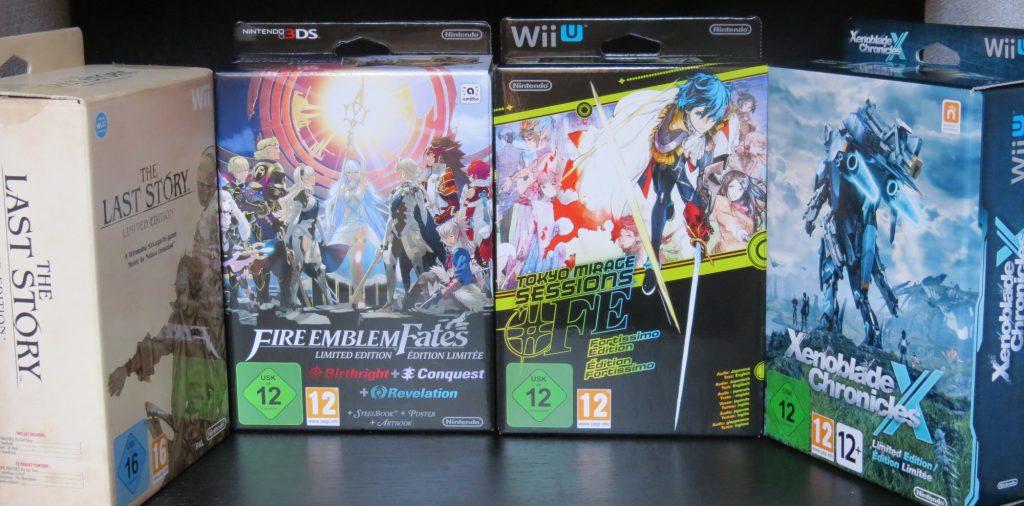 Varias ediciones especiales, todas usando el mismo tipo de caja.